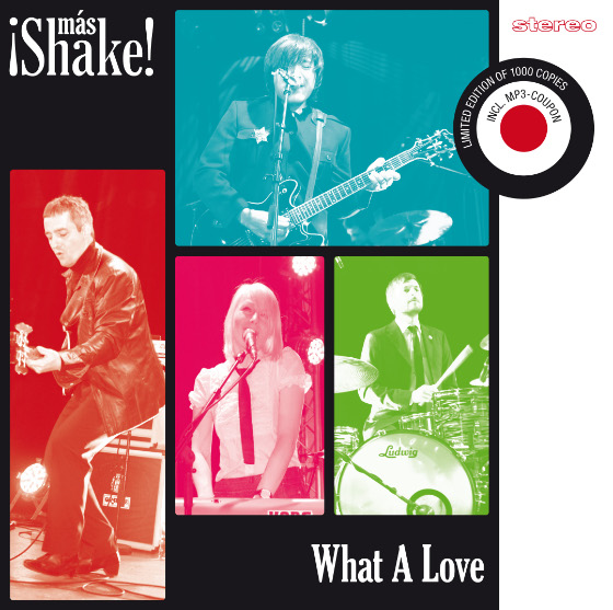 "What A Love (7"") Release 01.08.2012"